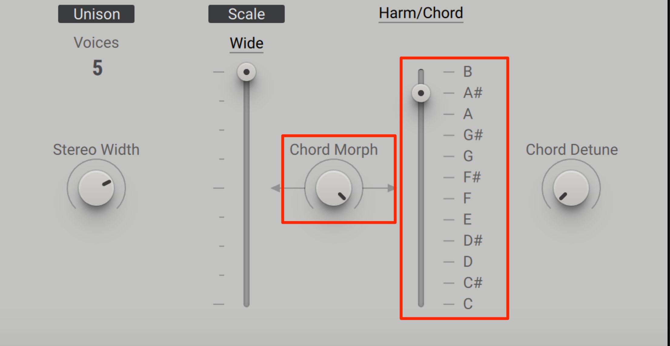 Chord Morph