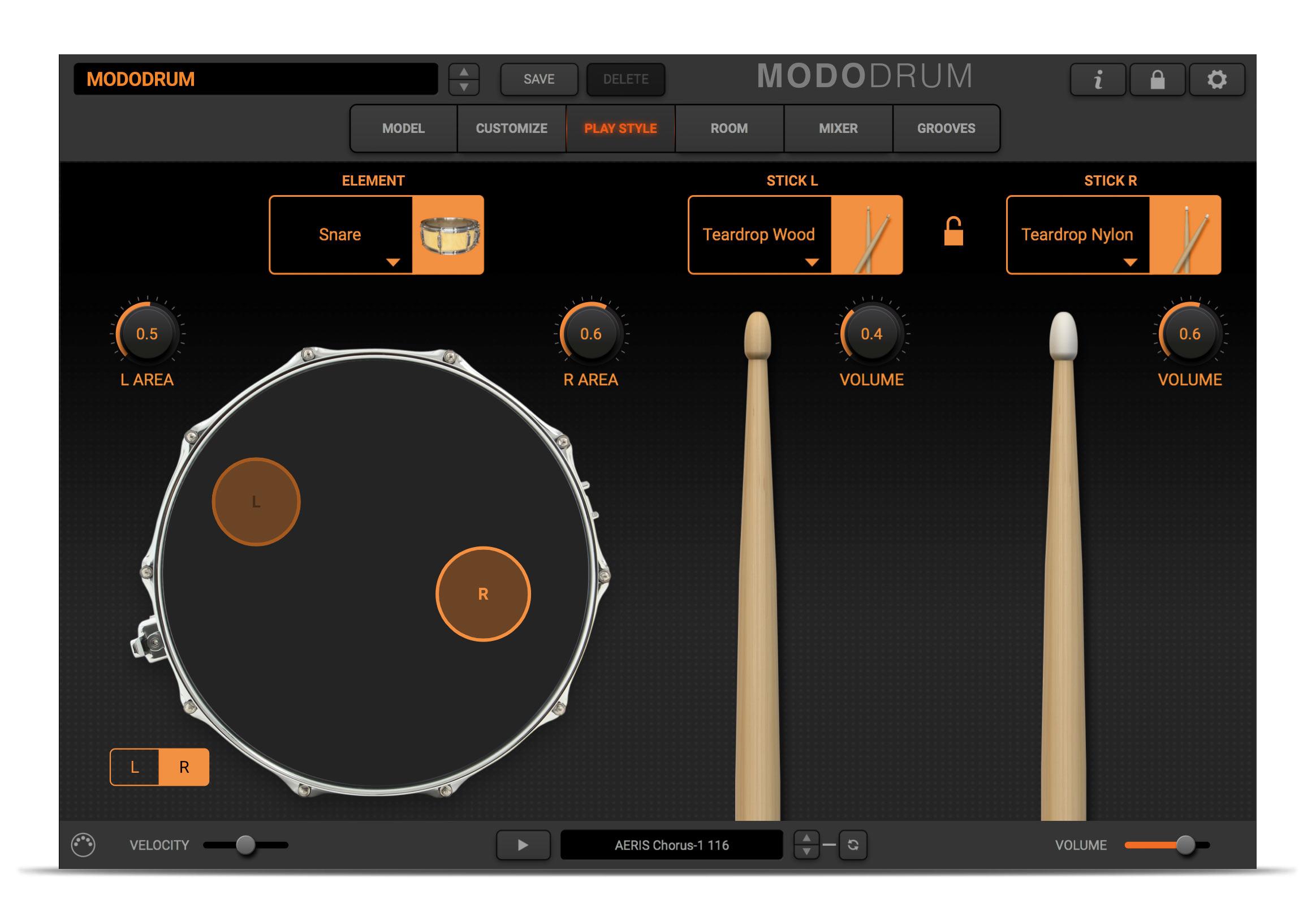 MODO DRUM Drummer