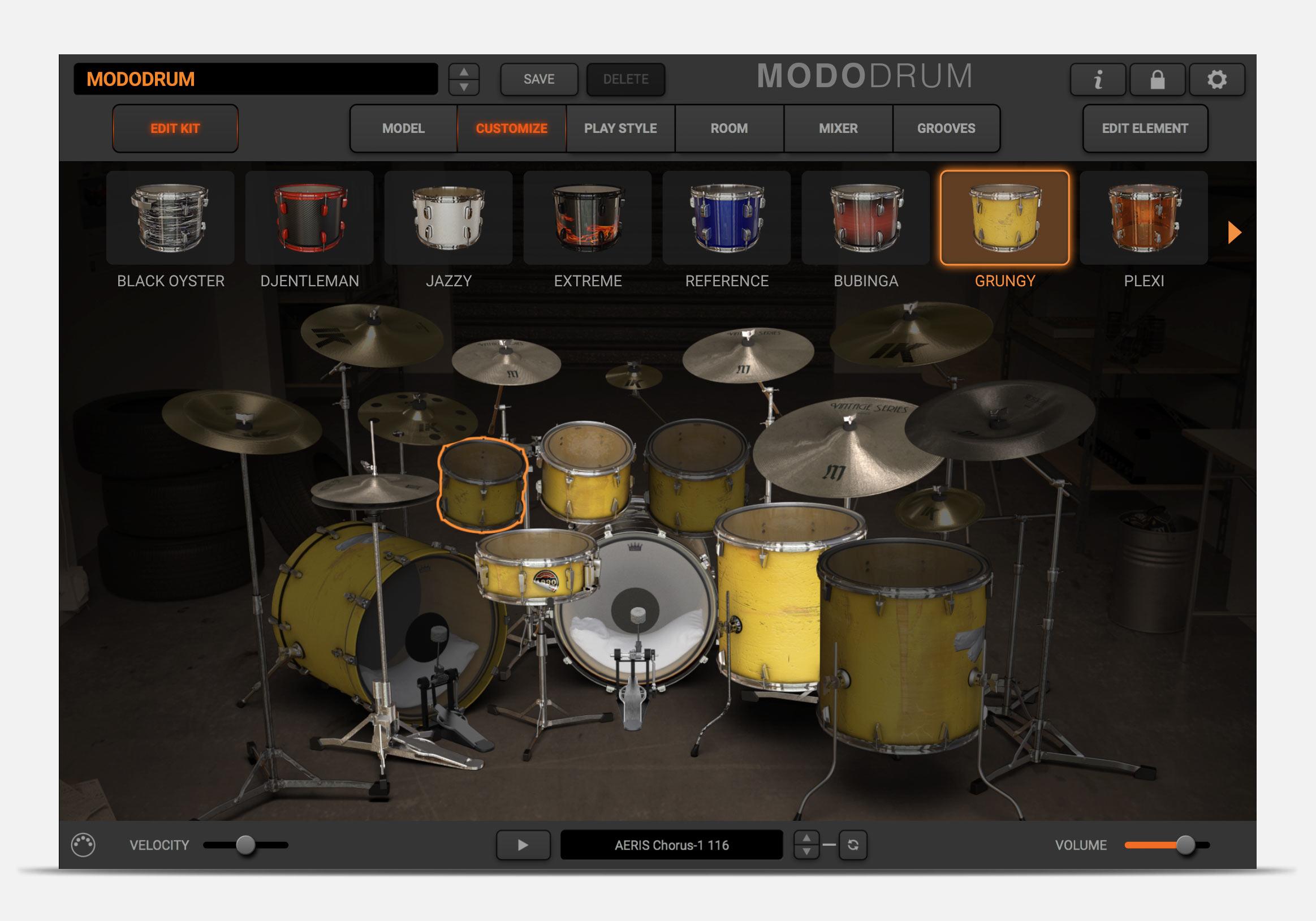 MODO DRUM DrummerKit10