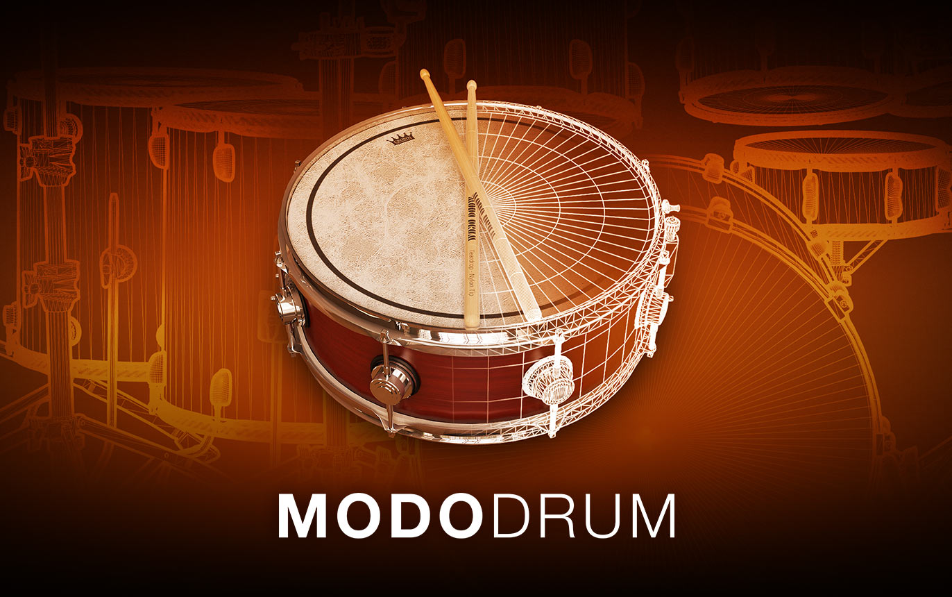史上初のフィジカルモデリング 生ドラム音源 「MODO DRUM」プリオーダー特価で注文開始