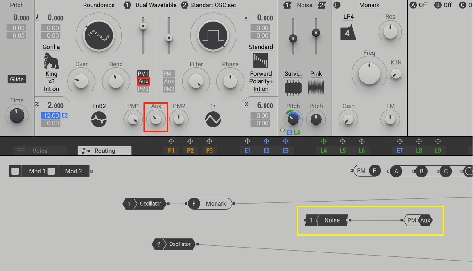Noise PM AUX Massive X