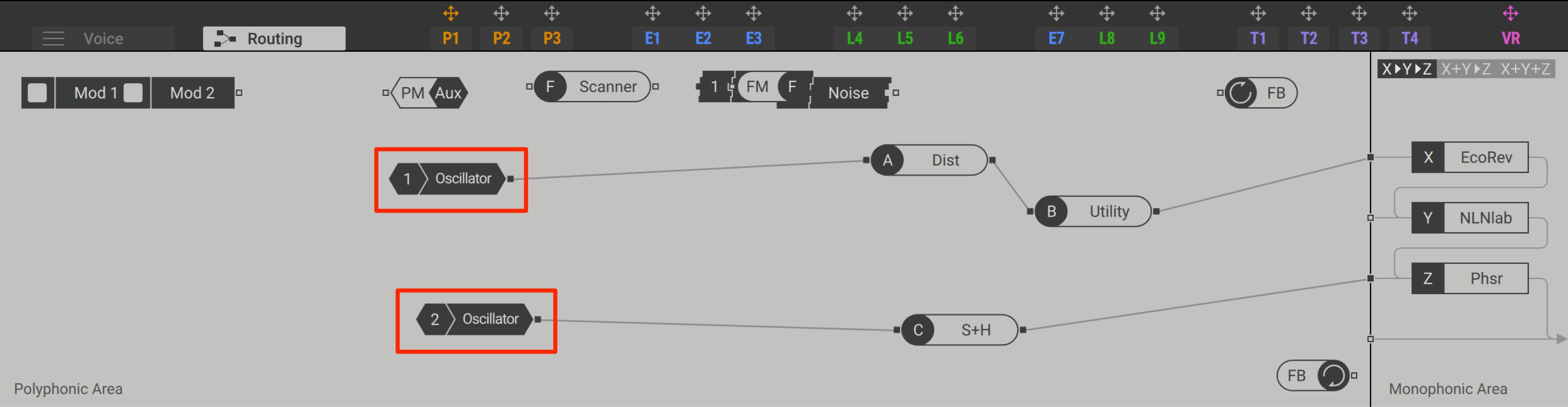 Routing Effect Massive
