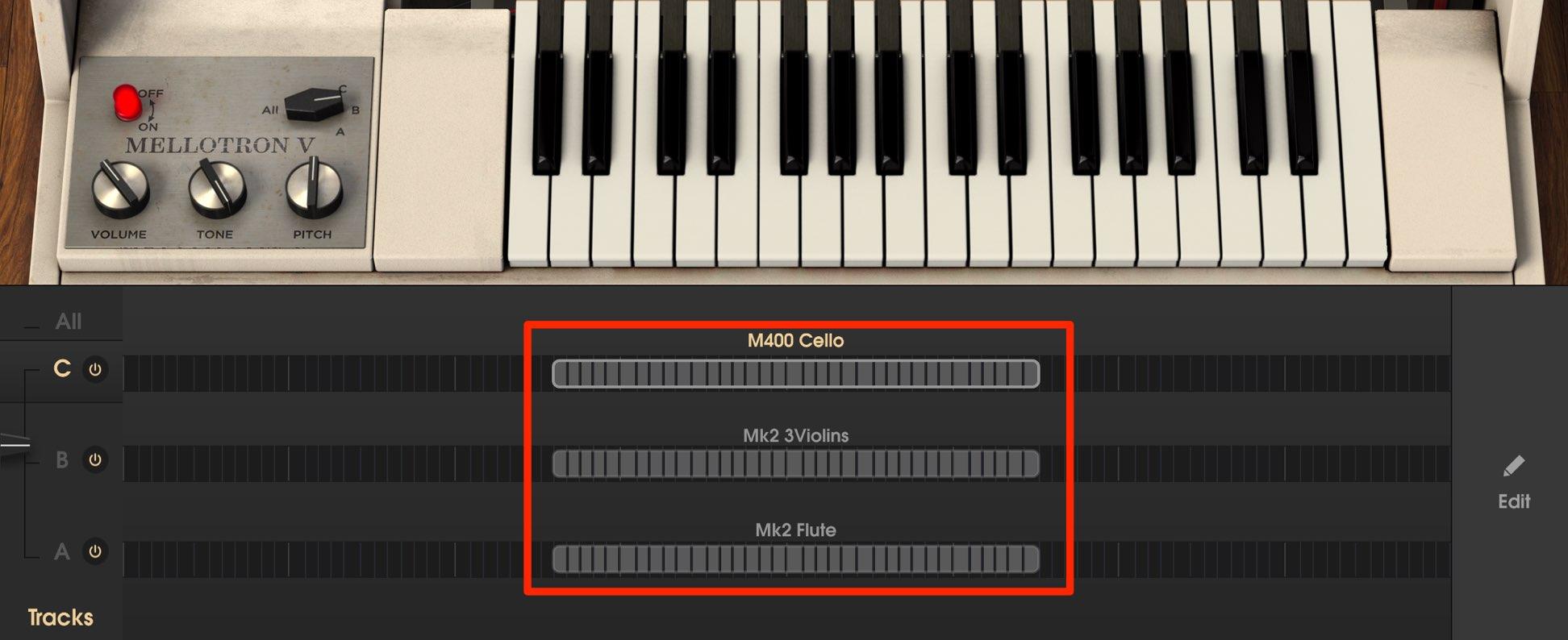 Sound Mellotron V