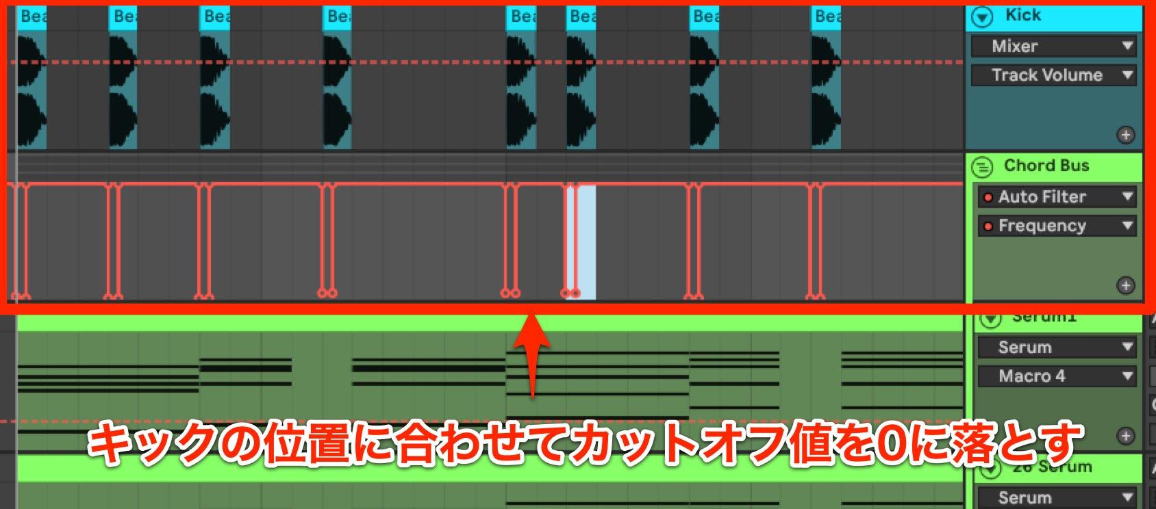 Future Bass コード LPF3