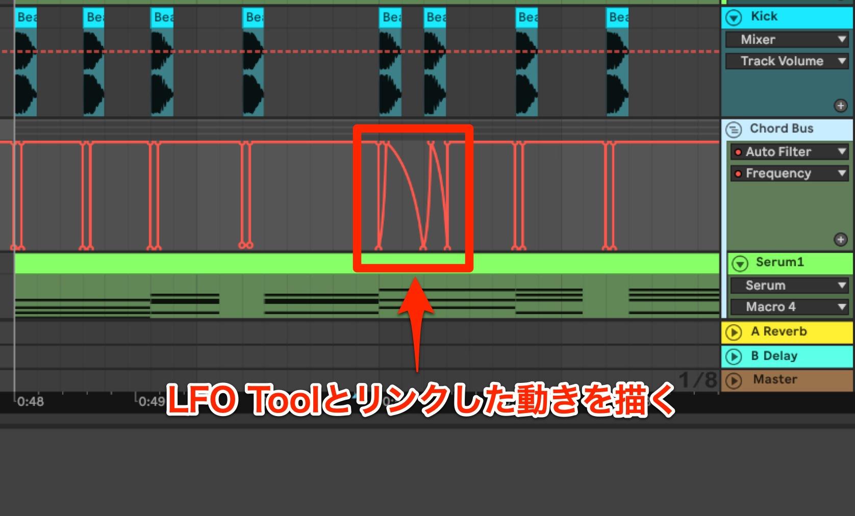 Future Bass コード LPF7