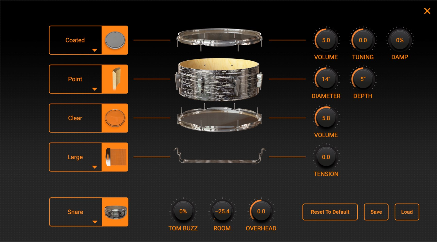 KIT CUSTOMIZE MODO DRUM