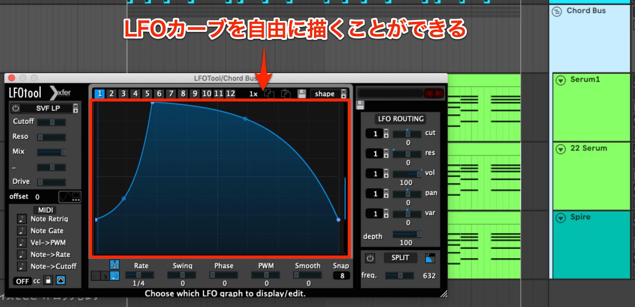Future Bass LFO Tool