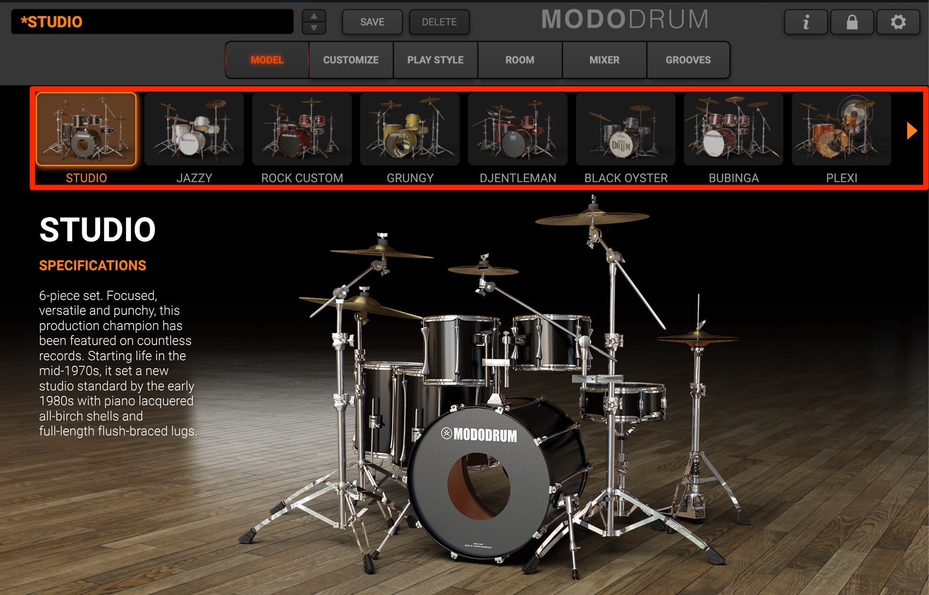 MODO DRUM SoundPreset