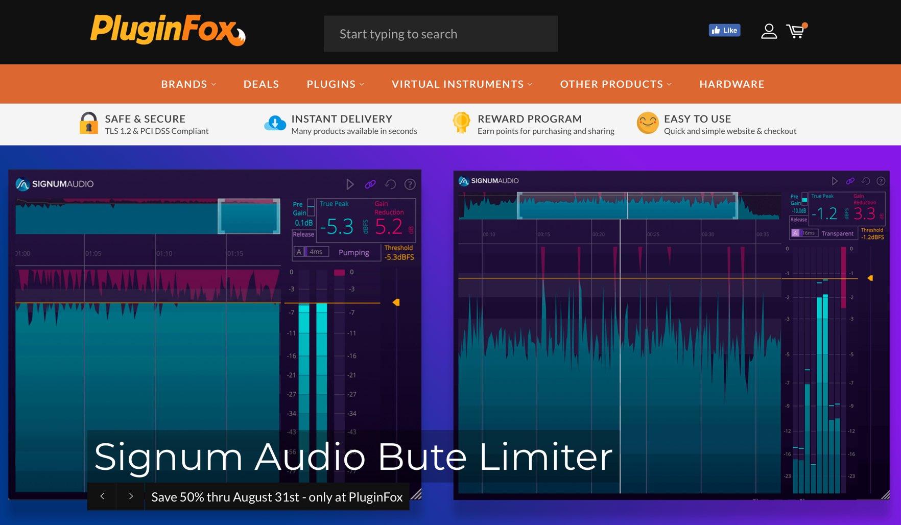 海外DTMプラグイン販売サイト 「PluginFox」のアカウント作成・製品の購入方法