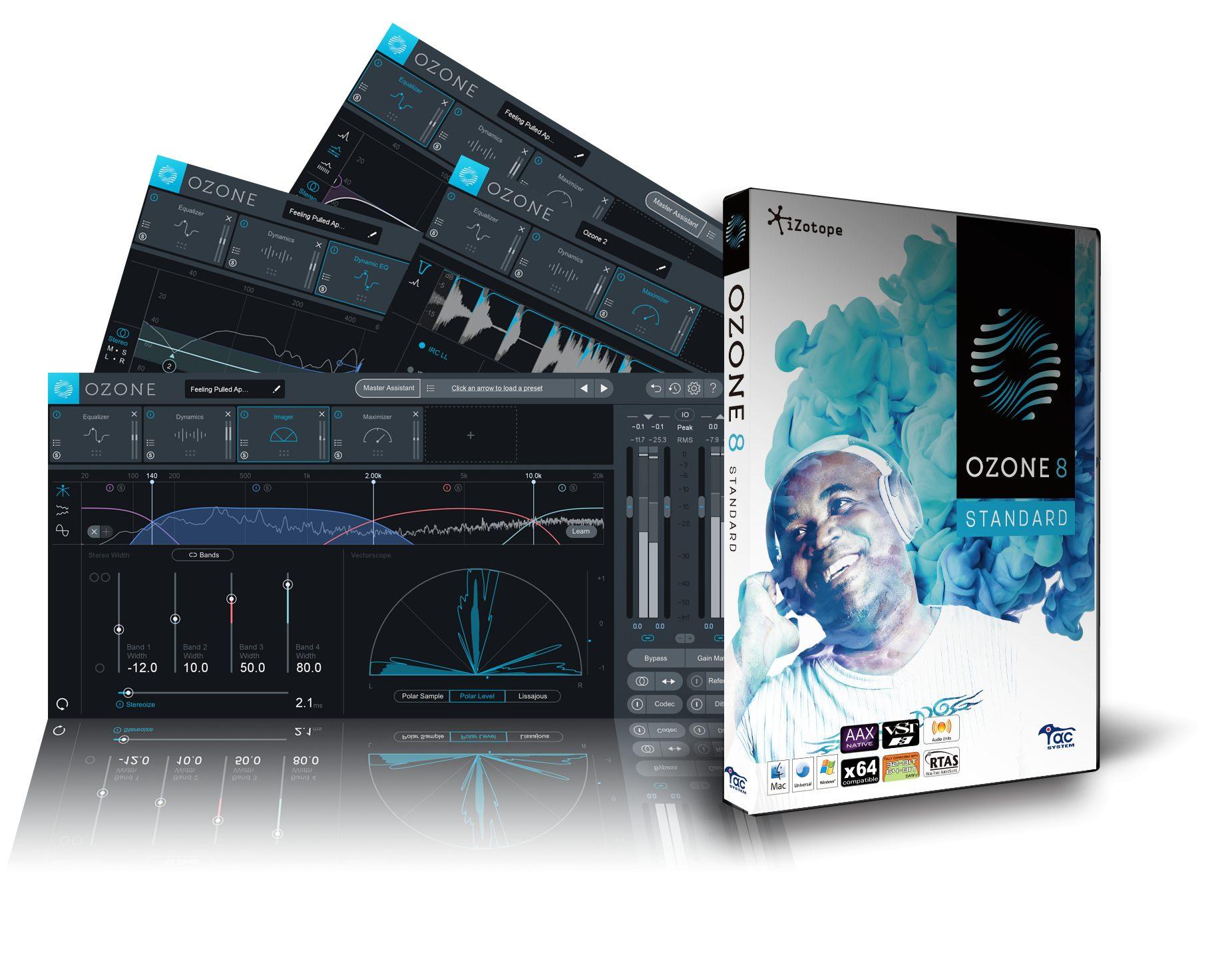 【80%OFF】iZotope Ozone 8 Standardが再びセール中!通常27,300円が5,320円に