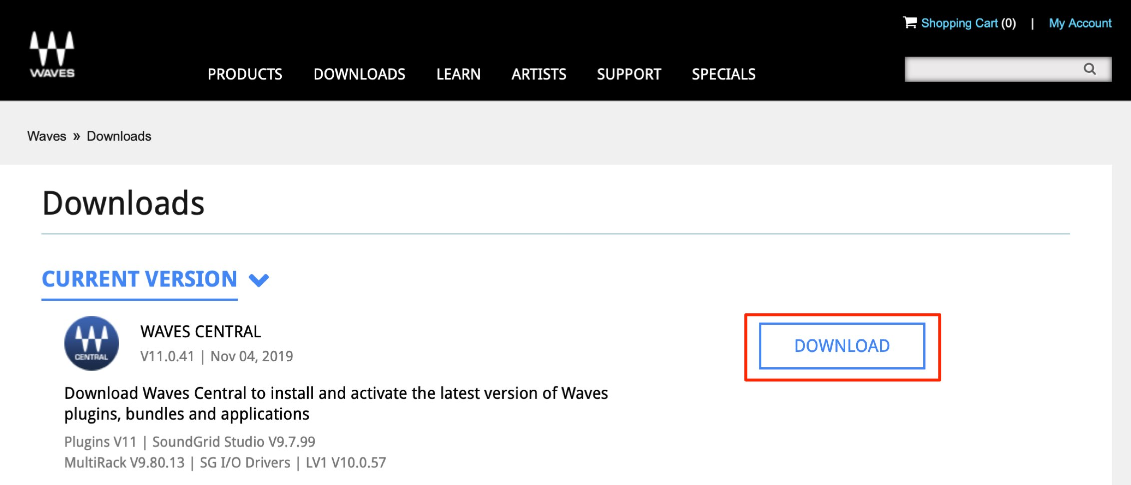 Waves V11 Install/Register Plugins (Upgrading Products) How