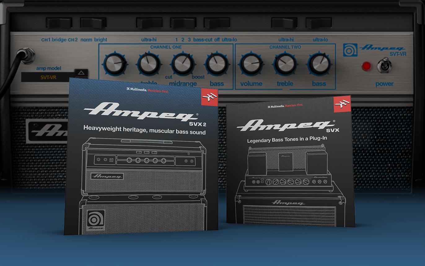 【60%OFF】IKのベースアンプシミュレーター「Ampeg SVX」「Ampeg SVX 2」がKrazy Deal中!