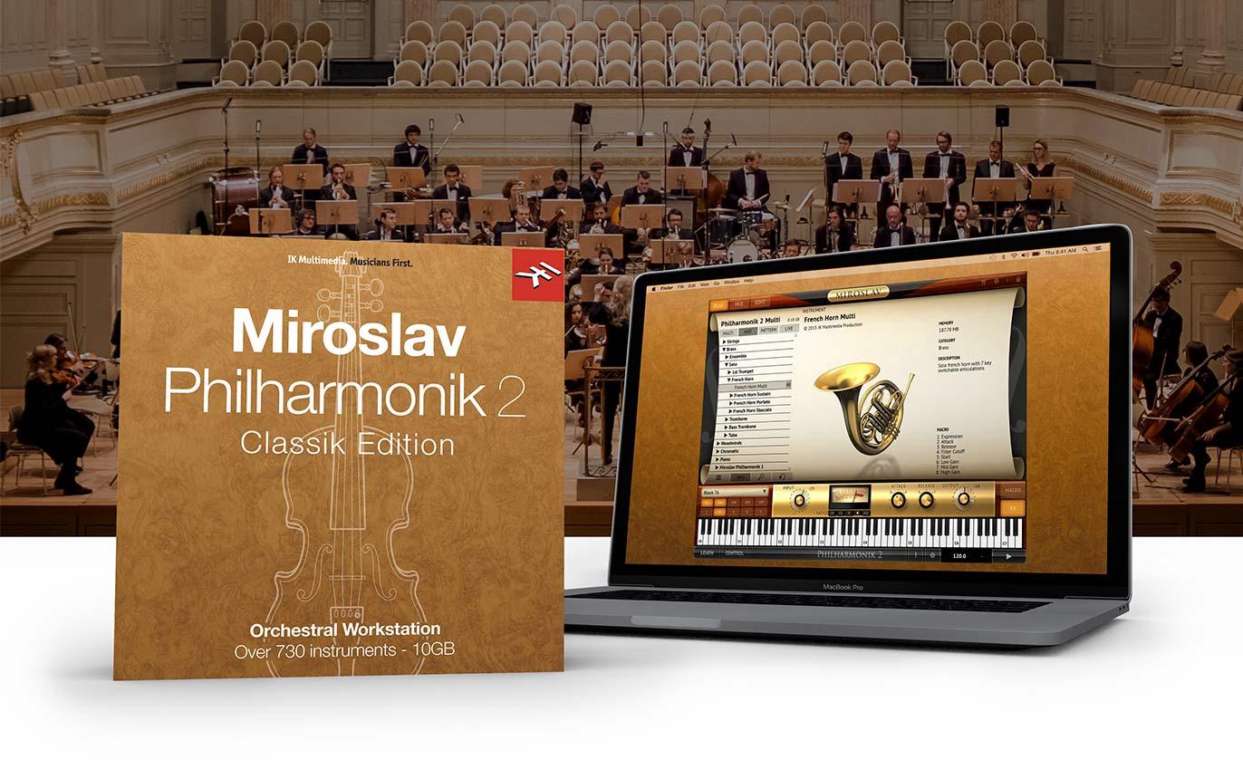 【70%OFF】IK Multimedia「Miroslav Philharmonik 2 CE」「SampleTank 4 SE」が4,790円!
