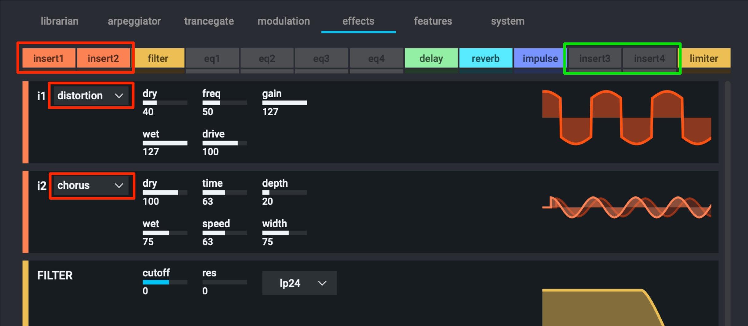 Effects Insert Nexus 3
