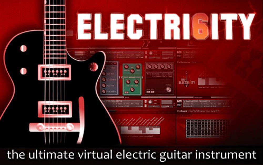 【25%OFF】エレクトリックギター音源の金字塔 「Electri6ity」がブラックフライデーセール中!