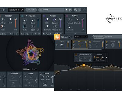 【66%OFF】iZotope Vocal Bundle Crossgradeがセール中!
