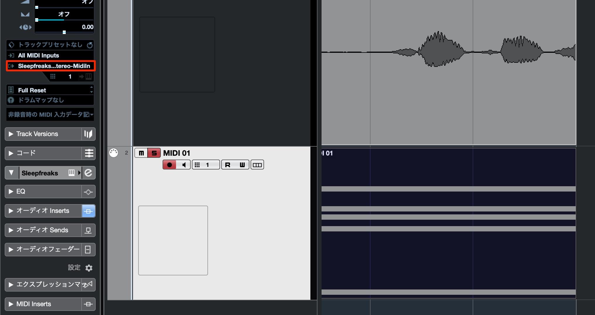MIDI Track to OVox