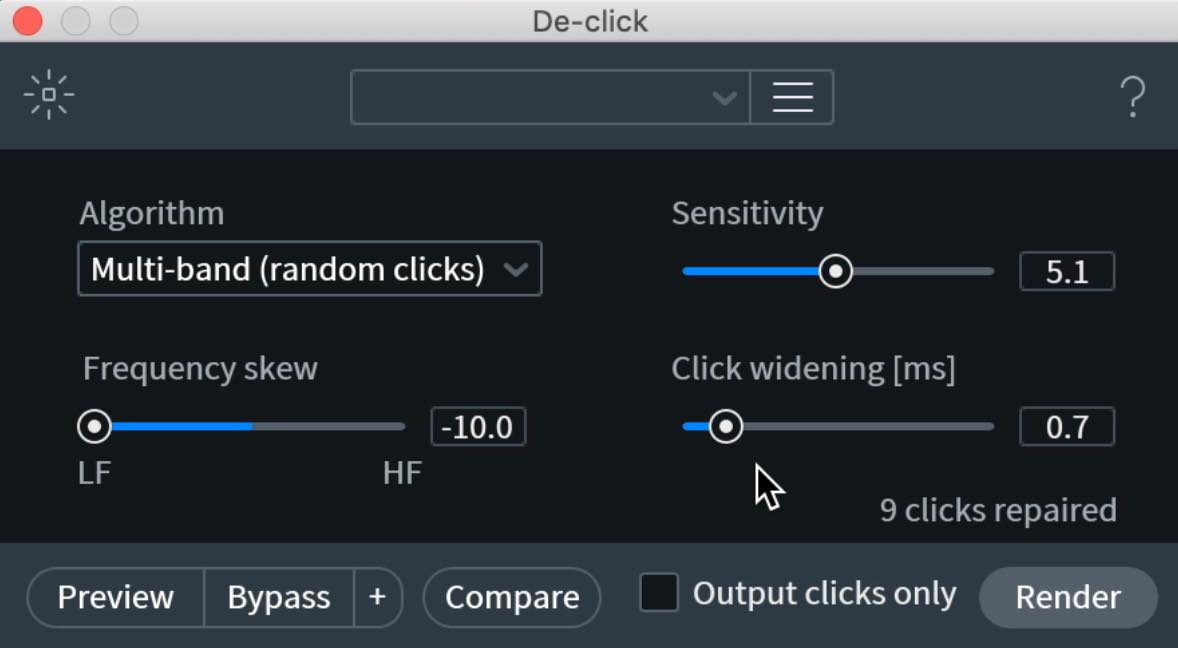 De-click3