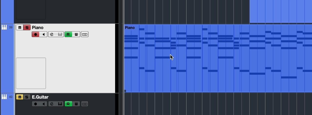 MIDI情報