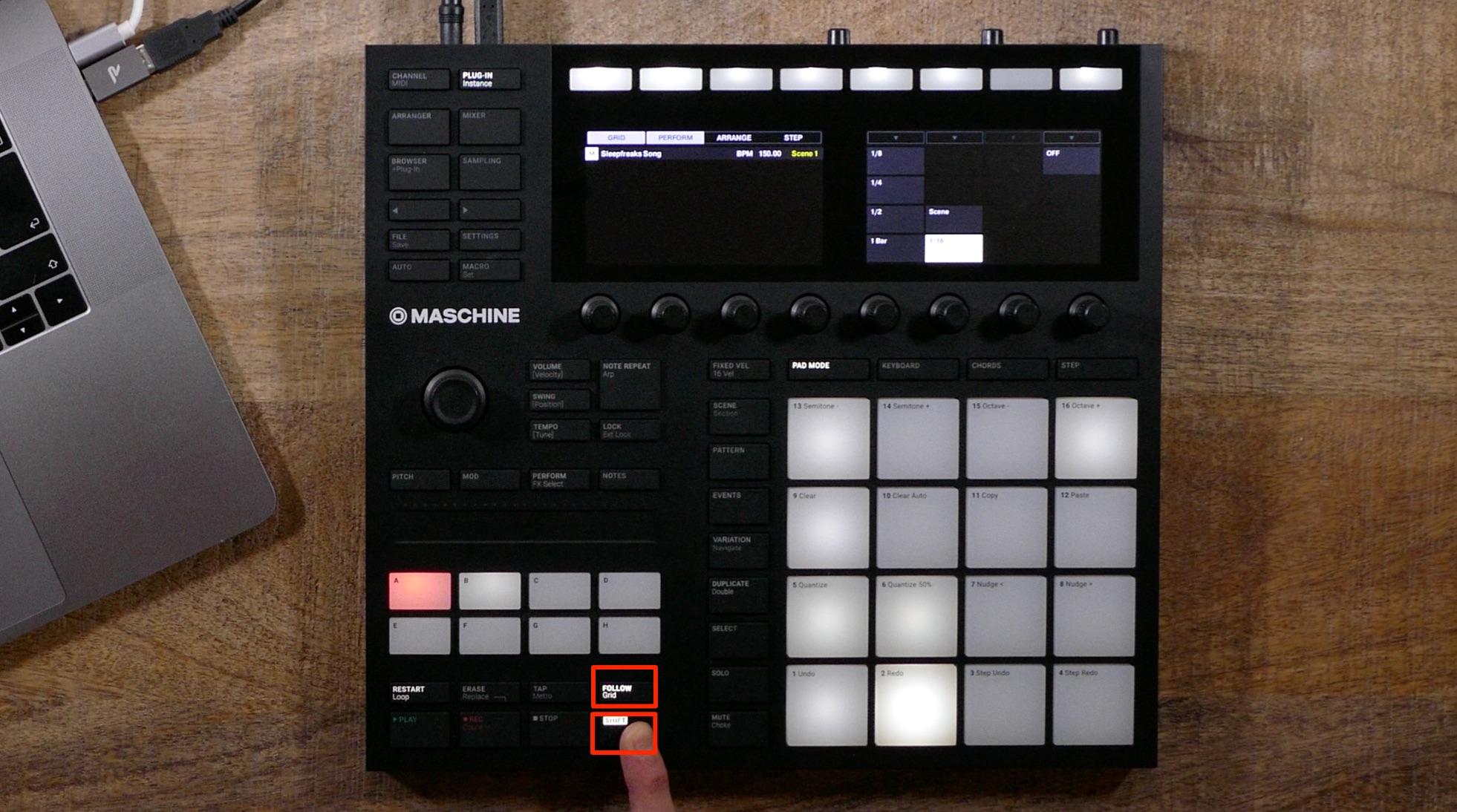 クオンタイズ音価 Maschine_MK3