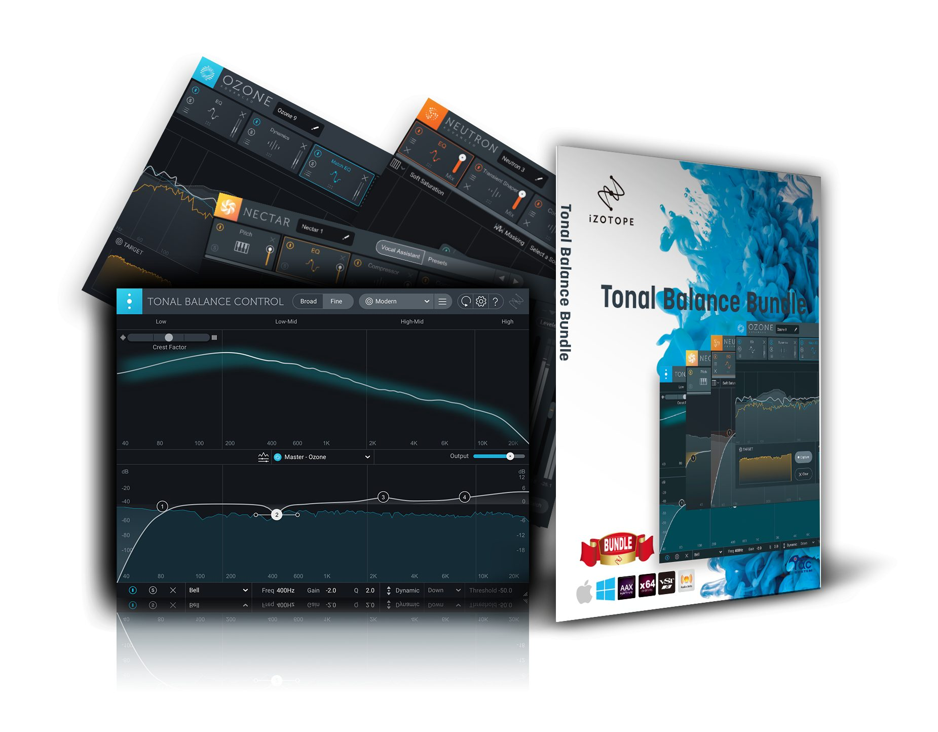 【73%OFF】iZotope Tonal Balance Bundle がクロスグレードセール中!