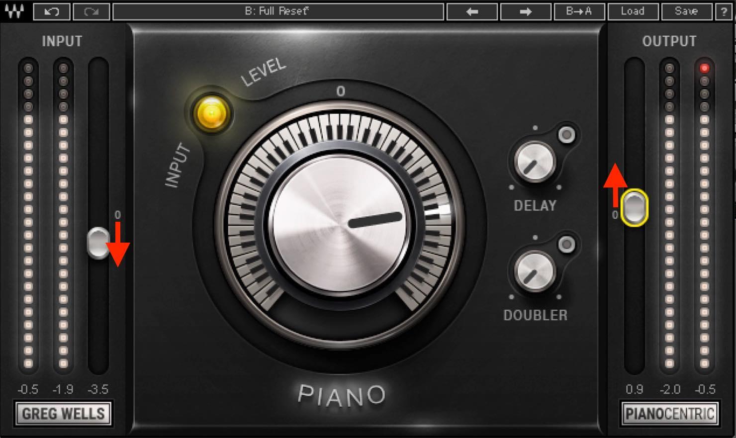 piano input output