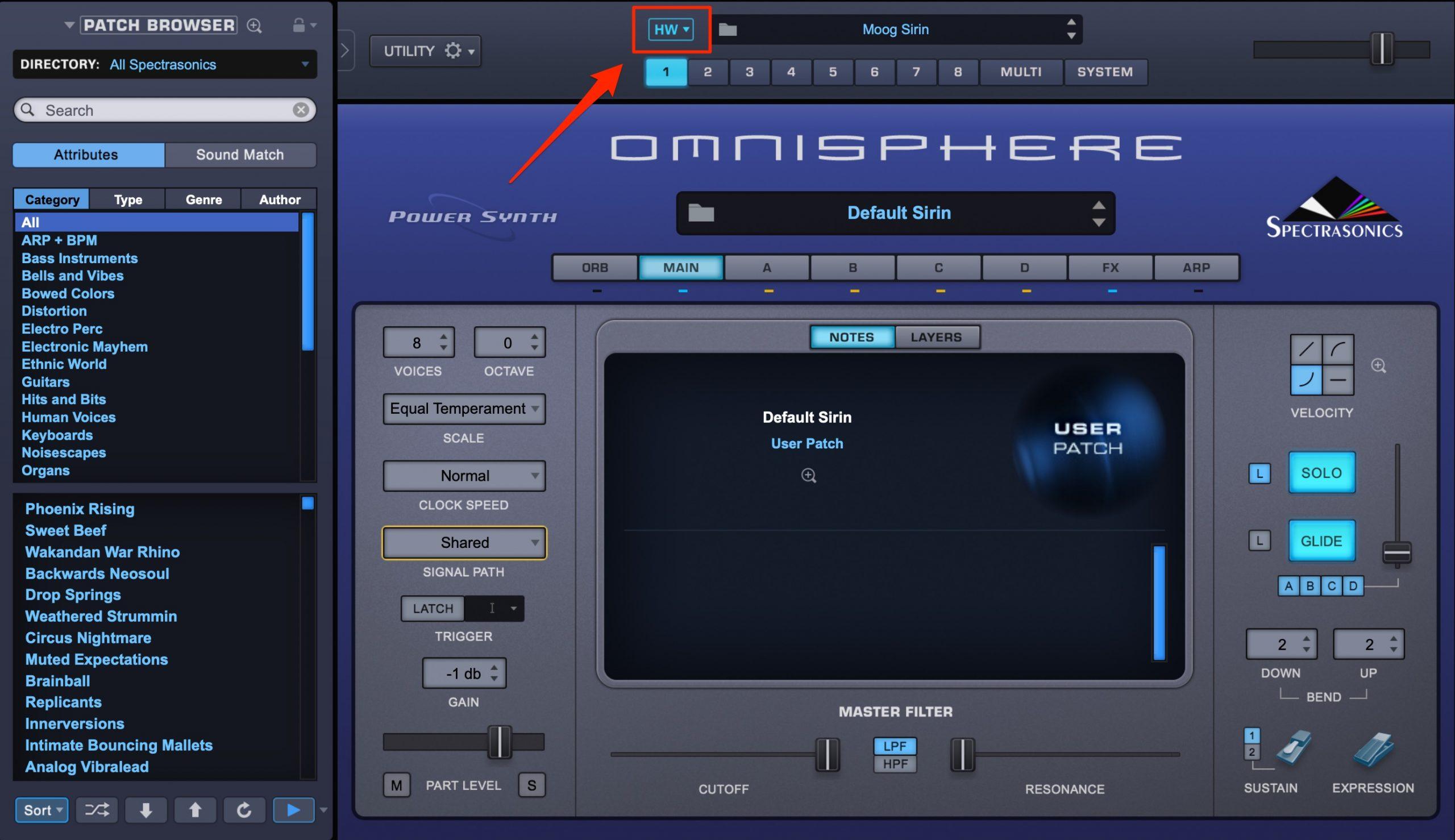 Omnisphere_HW