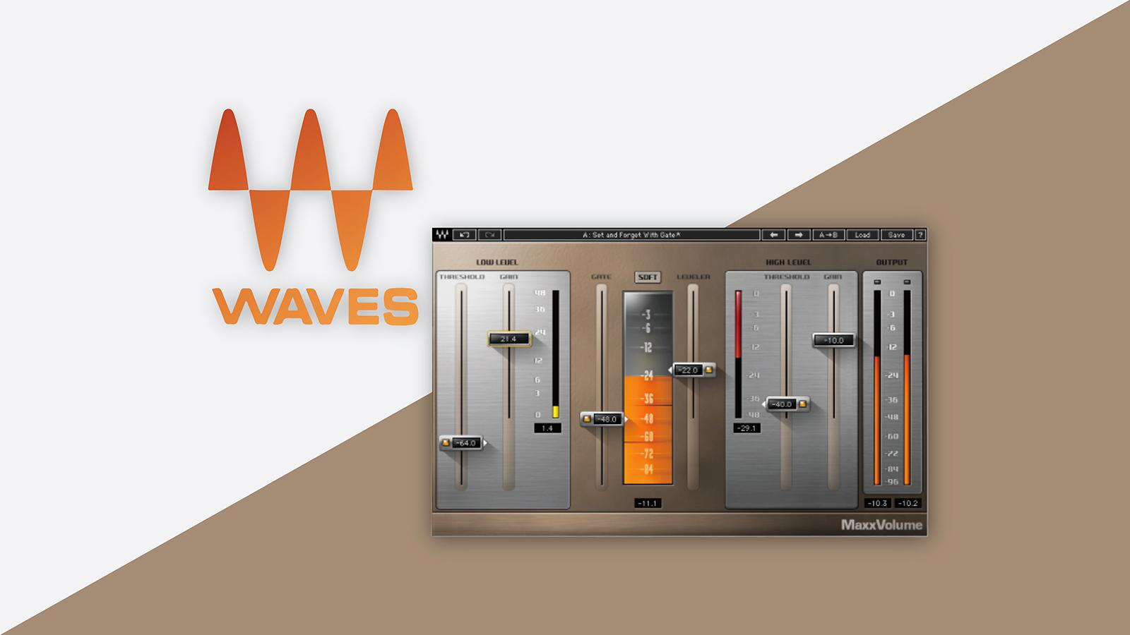 【無料】Waves Maxx Volumeが期間限定で無償配布中!