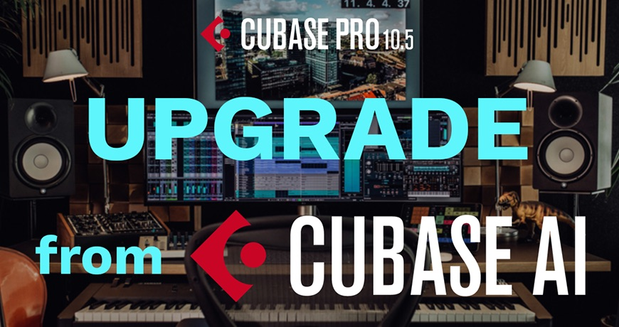 【45%OFF】Cubase AIからProへのアップグレードがセール中!