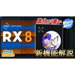進化を遂げた業界標準のノイズ除去ソフト「iZotope RX 8」新機能解説