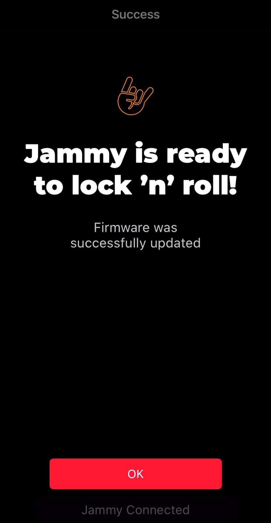 Firmware_更新の完了