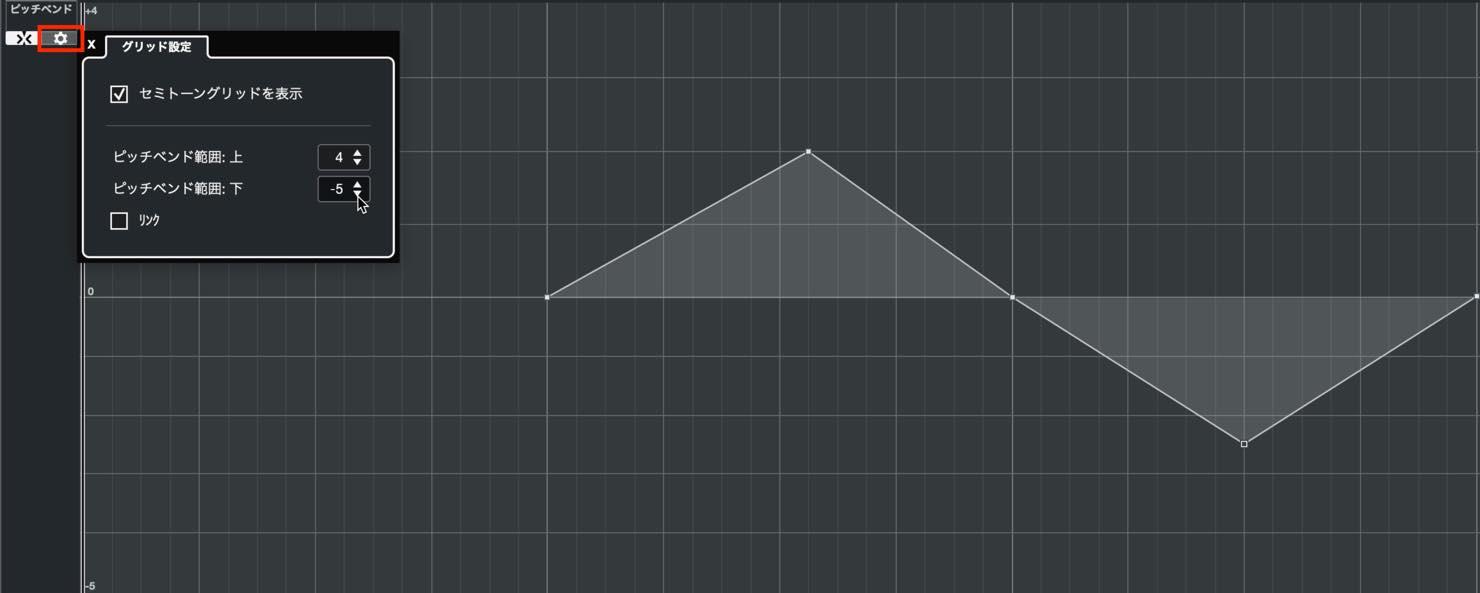 pitch configure