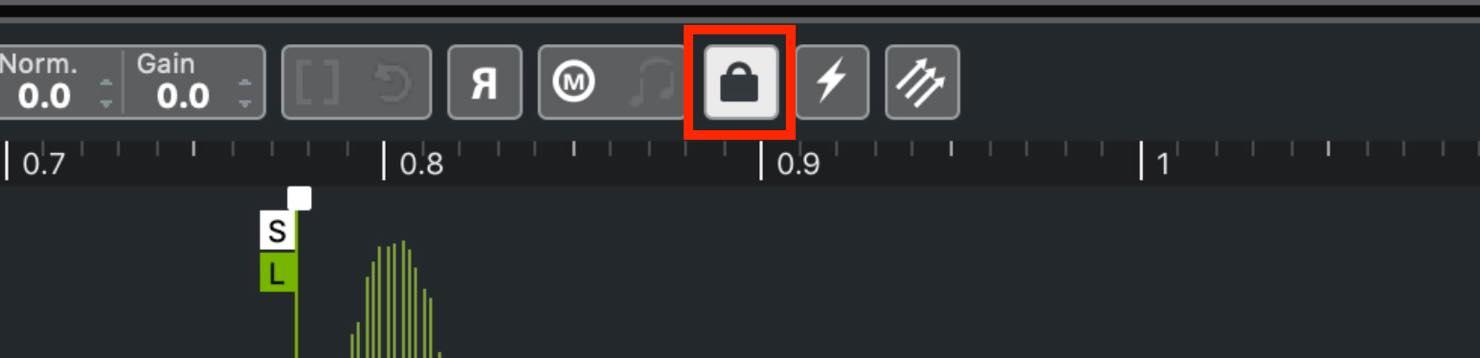parameter lock