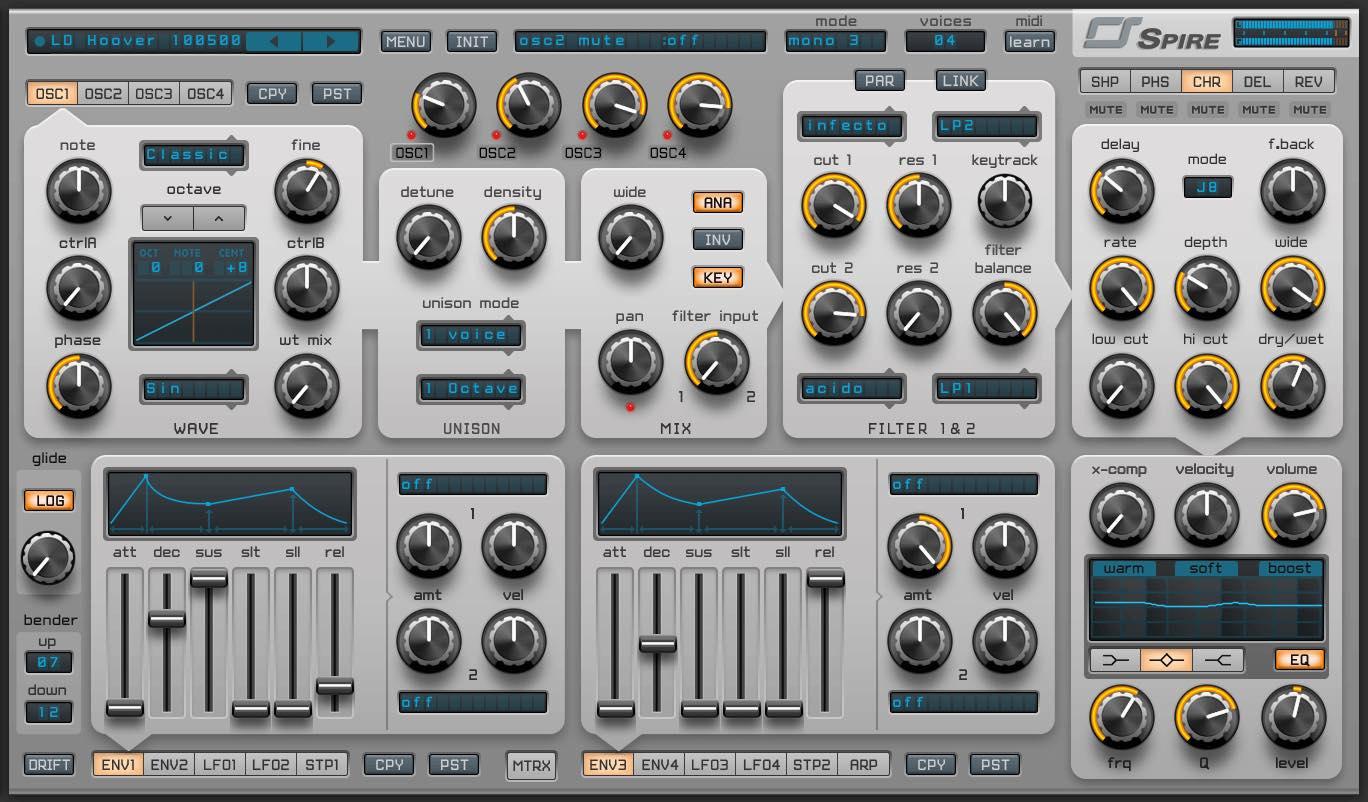 【30%OFF】人気の高性能ソフトシンセ Reveal Sound Spireがブラックフライデーセール中!