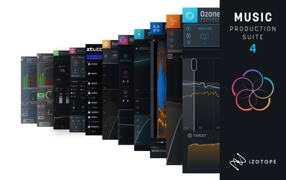 【最大52%OFF】iZotope Music Production Suite 4がホリデーセール中!