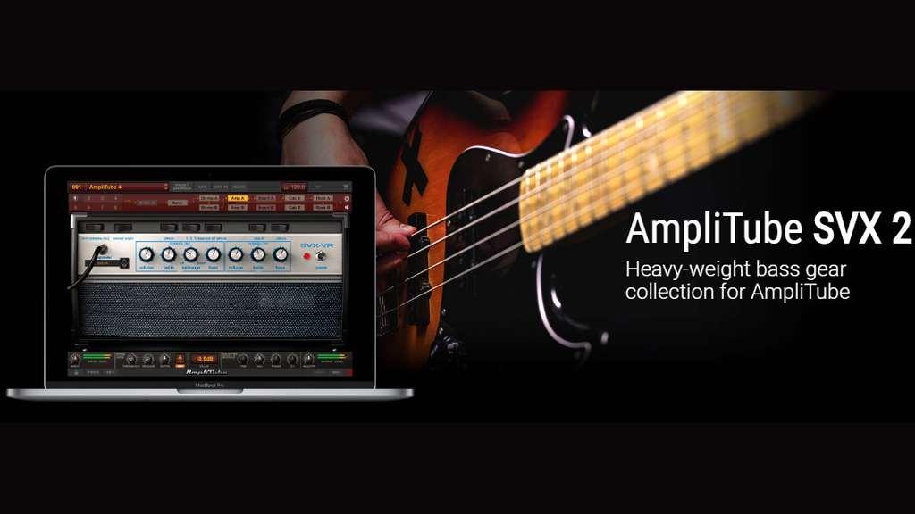 【40%OFF】IKのベースアンプシミュレーター AmpliTube SVX 2がセール中!