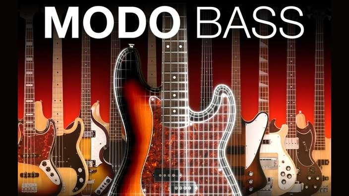 【67%OFF】生ベース音源の定番 IK Multimedia MODO BASS がセール中!