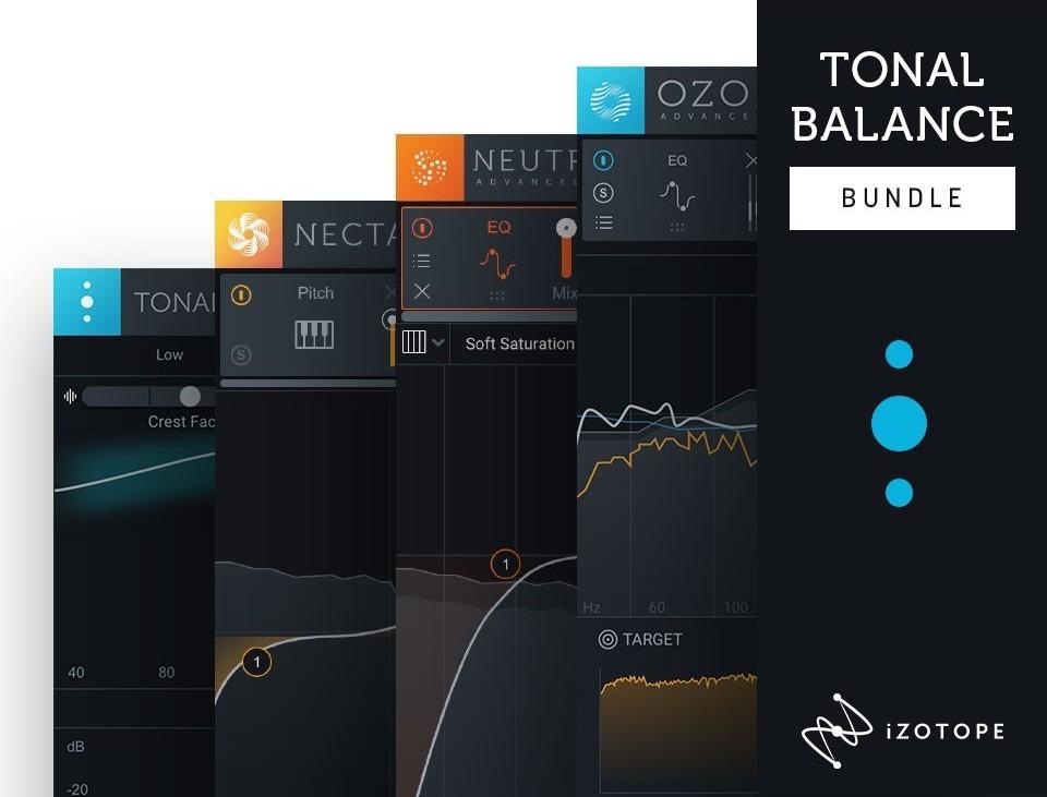 【73%OFF】ミックス/マスタリング系最上位が揃う iZotope Tonal Balance Bundle がアップグレードセール中!