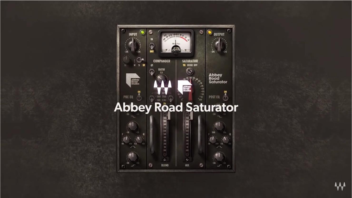 アビー・ロード・スタジオ公認サチュレーションプラグイン Waves Abbey Road Saturatorが4,000円