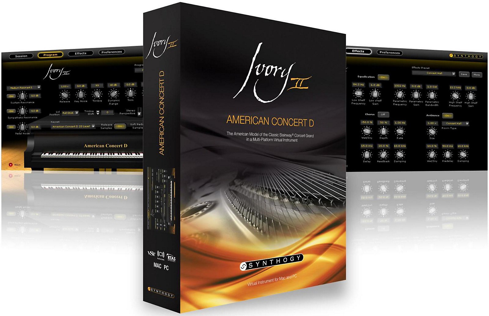 【46%OFF】大人気ピアノ音源 Synthogy Ivory II American Concert Dがアウトレットセール中!