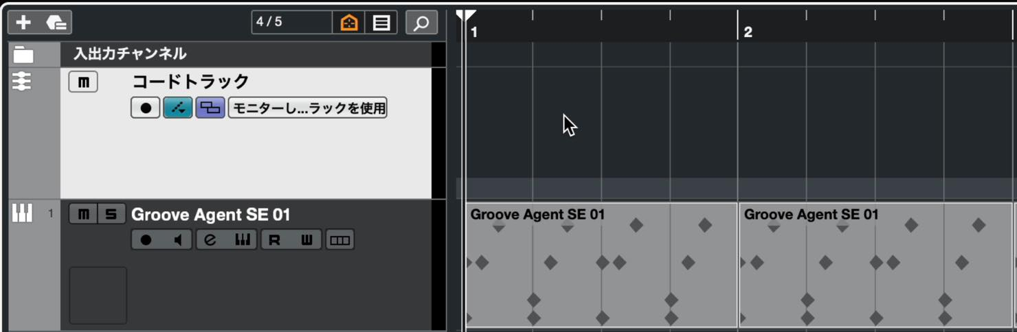 chord track
