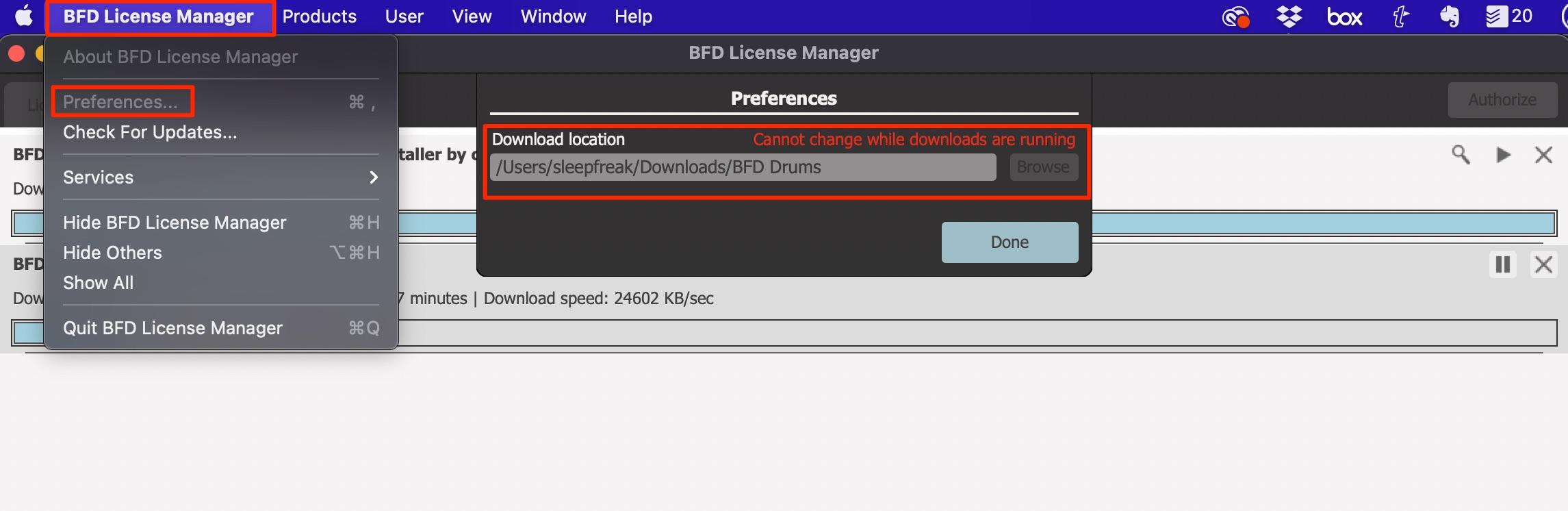 ライブラリのダウンロード_BFD3