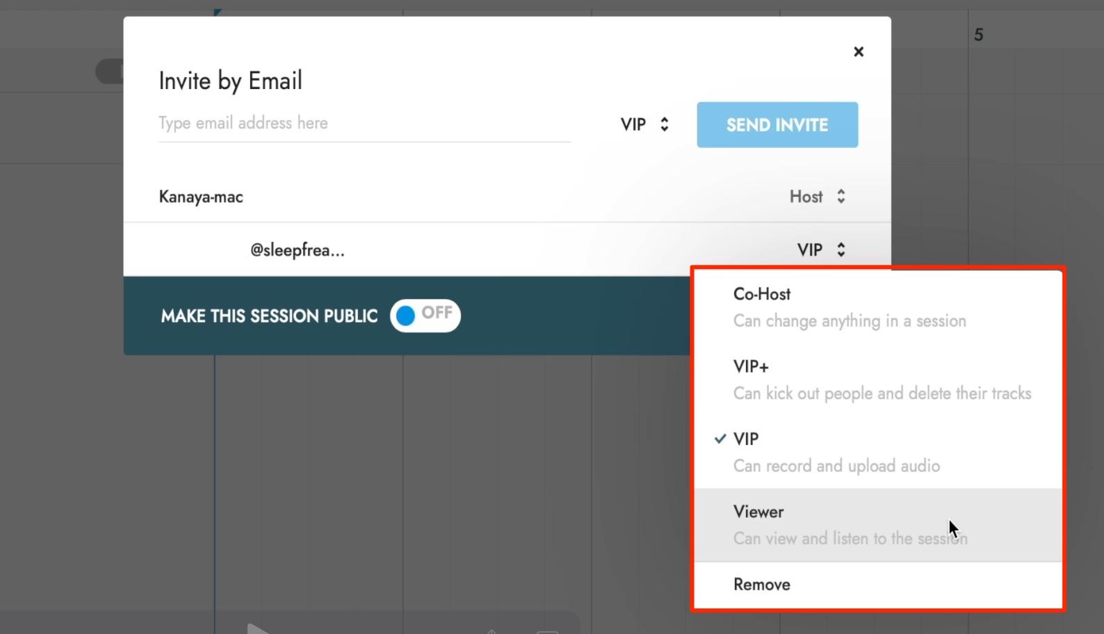 INVITE_Sessions__権限
