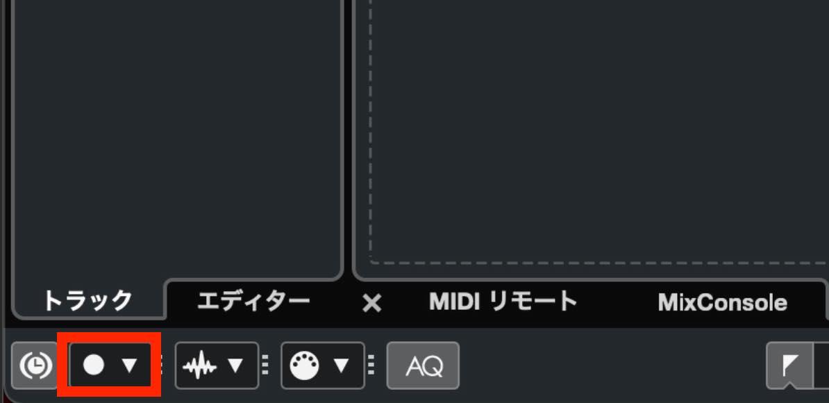 common recording mode