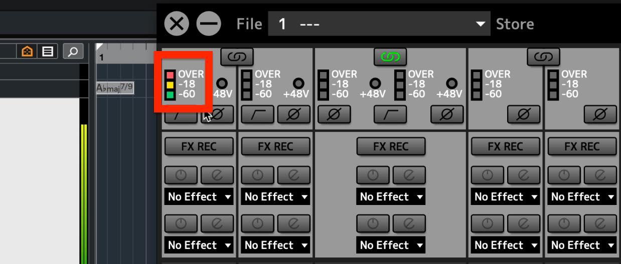 input meter