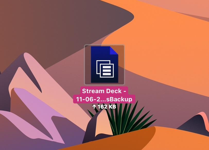 StreamDeck_Backup