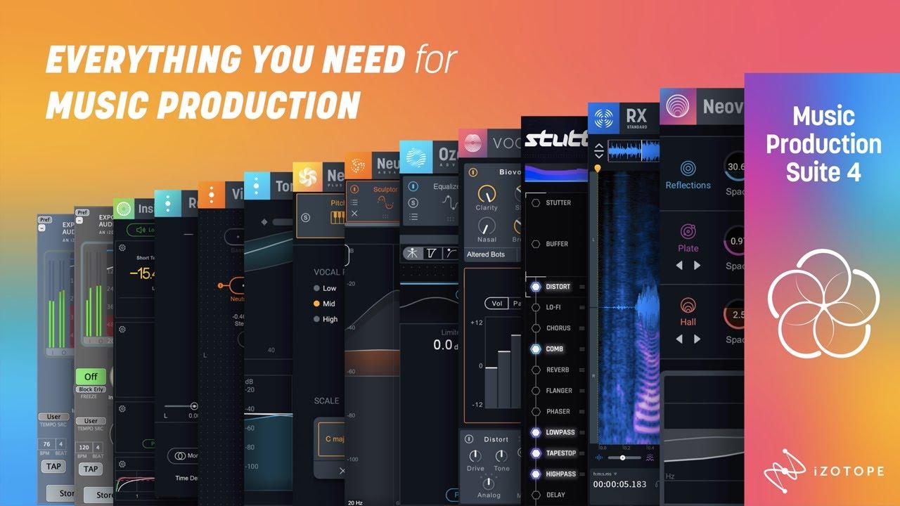 【最大64%OFF】制作系ツールがひと通り揃う iZotope Music Production Suite 4がセール中!