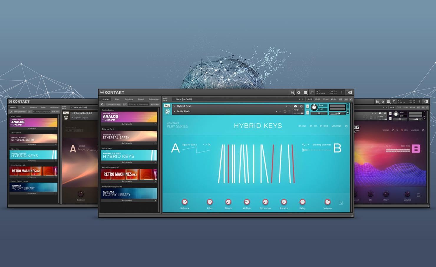 【50%OFF】Native Instruments 業界標準サンプラー「KONTAKT 6」がセール中!