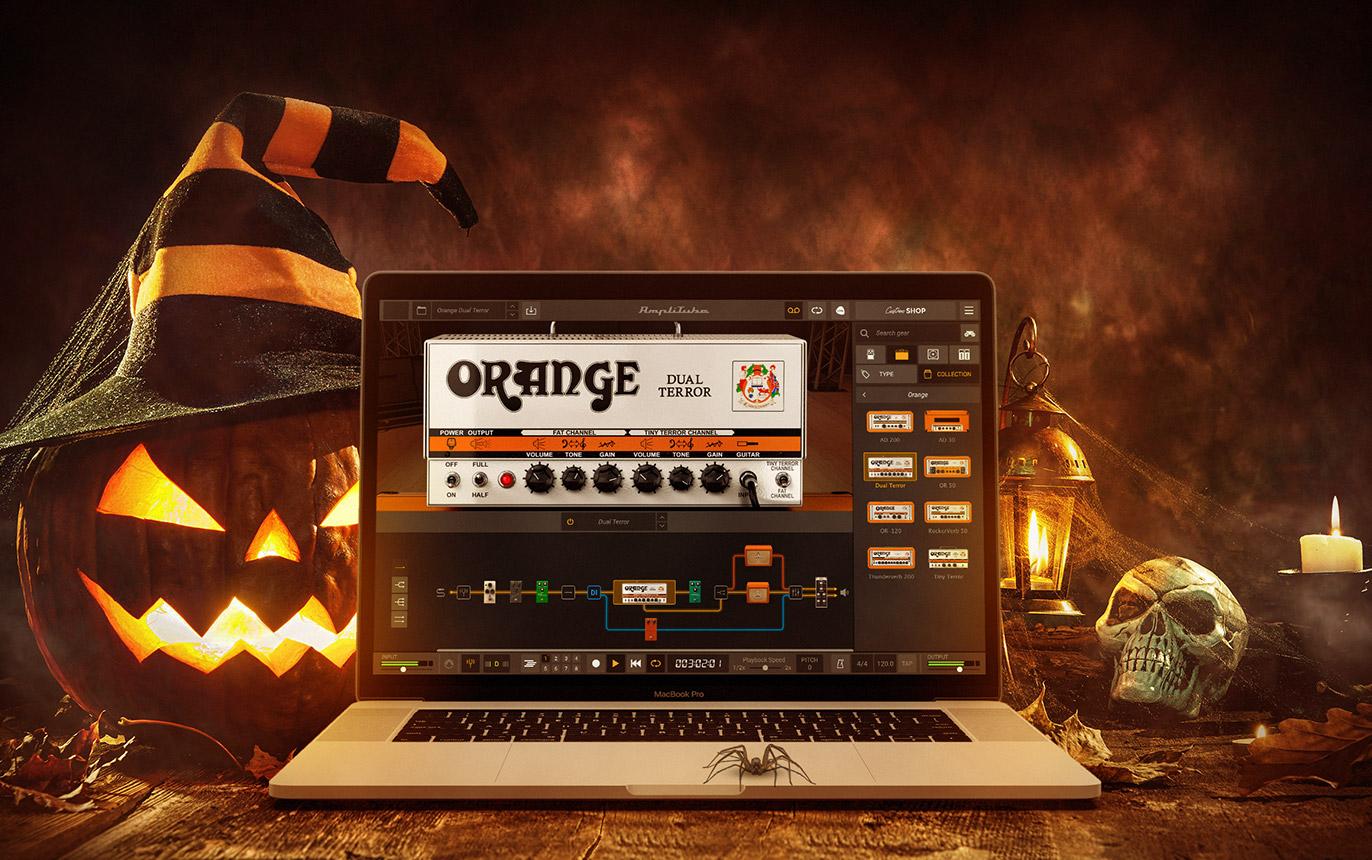 【無料】AmpliTube 5で使用可能な拡張アンプ Orange Dual Terror が期間限定無償配布中!無料版CSでも使用可!